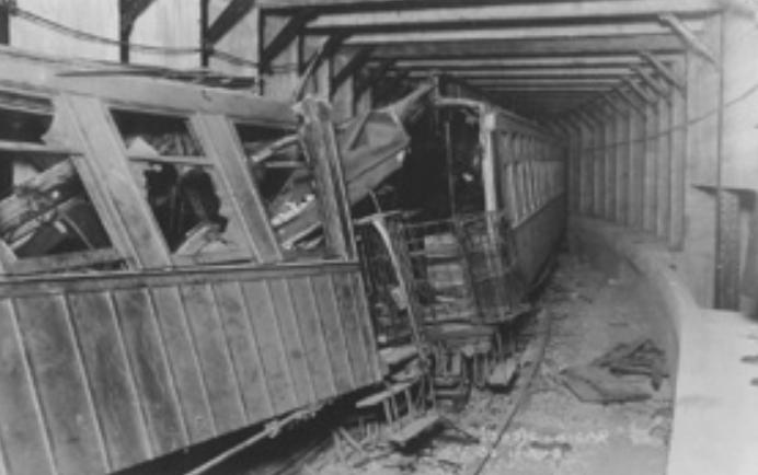 1918 Subway car from Melbone Wreck